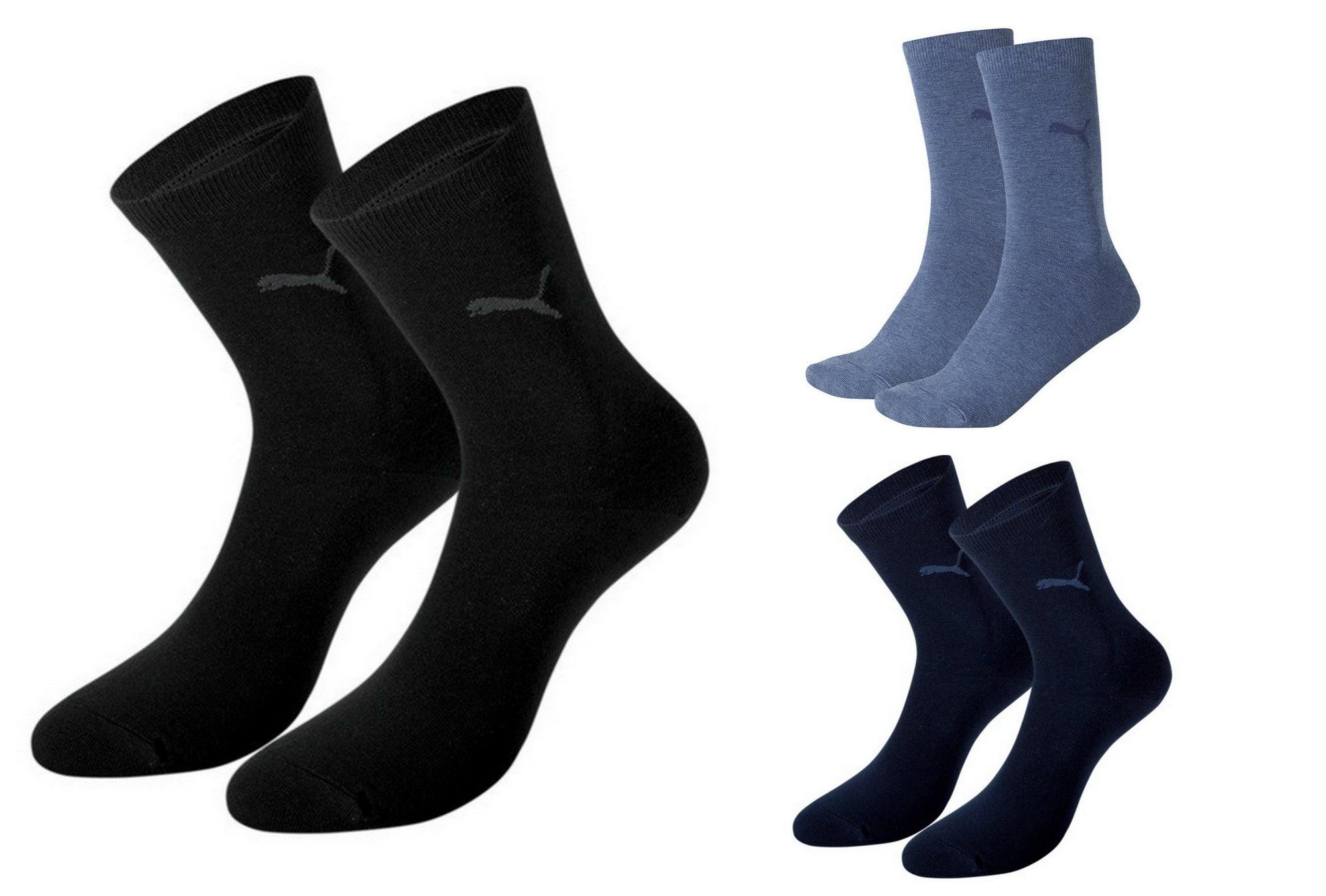4 Paar Puma Damen Casual Business Socken