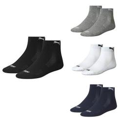 4 Paar PUMA Unisex Matchquarter Sneakers Socken MIT FROTTEESOHLE