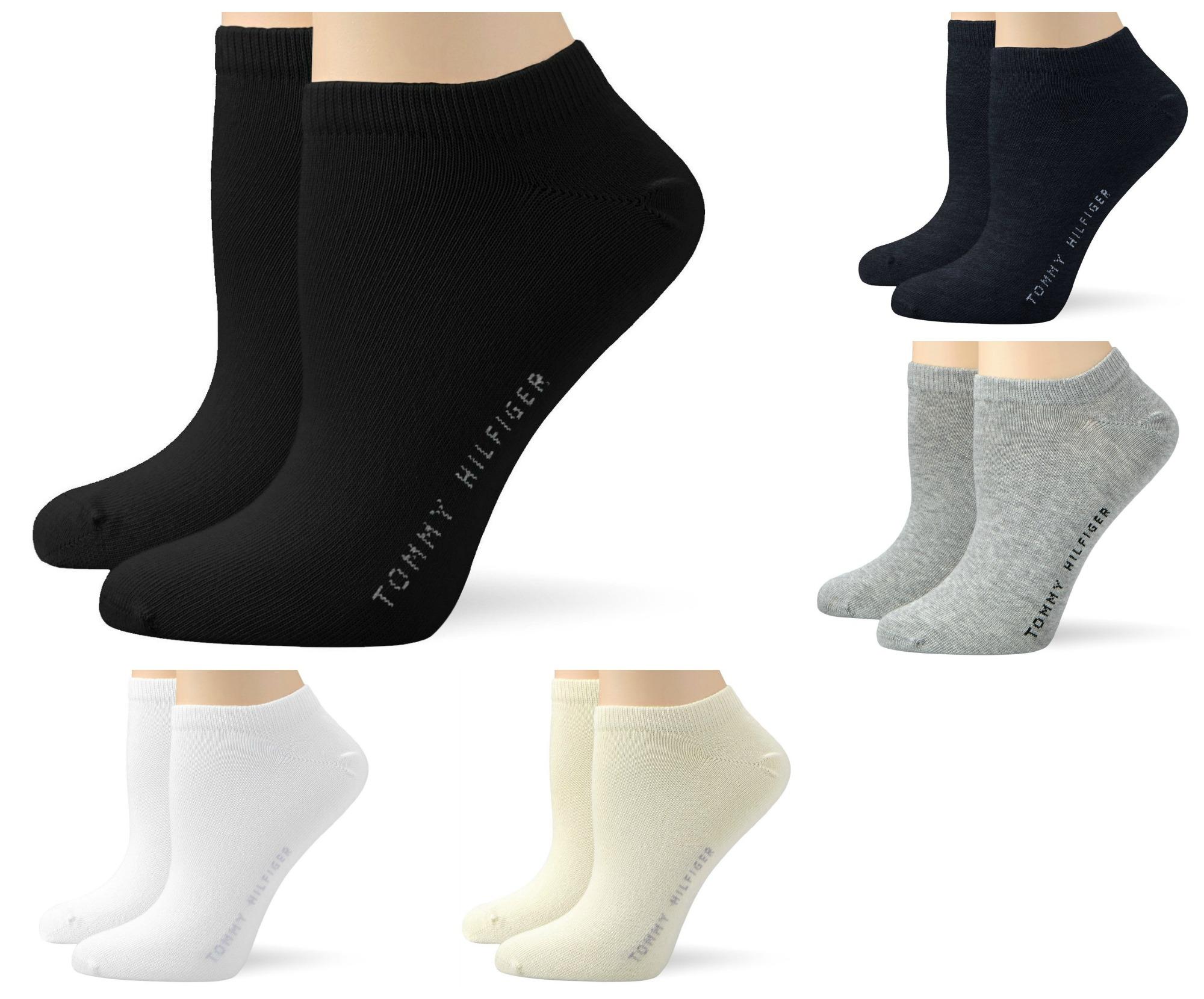4 Paar Tommy Hilfiger Damen Sneaker Socken